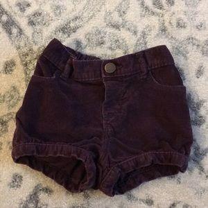 Baby gap corduroy bubble shorts 18-24 mo